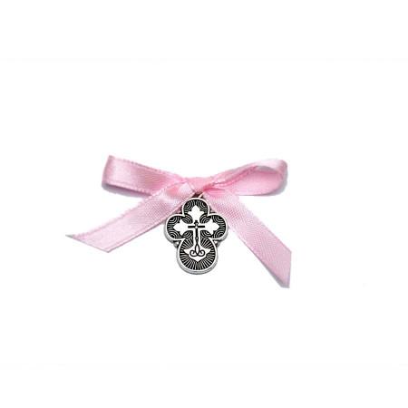 Cruciulite botez fundita roz Denikos® 89