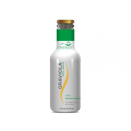 Graviola, suc/piure 100% pur, 470 ml