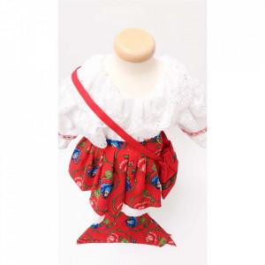 Costum traditional fetita, 5 - 7 ani, Denikos® 698