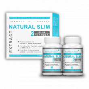 Natural Slim 2, mentinerea greutatii corporale, 2x60 cps