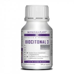 Biocitonal 3, functionare optima a organismului, 180 cps