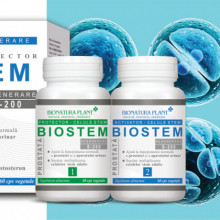 Biostem Prostata, protector si activator, 2x60 cps