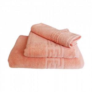 Set 3 prosoape groase si pufoase, bumbac, model grecesc, Somon, Denikos® 277