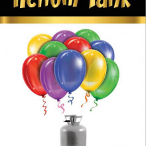 Set party butelie heliu, balon cifra 6 folie, banner si 10 baloane latex