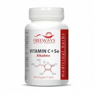 Vitamina C Alcalina + Se, 90 cps