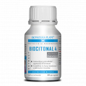Biocitonal 4, functionare optima a sistemului imunitar, 180 cps