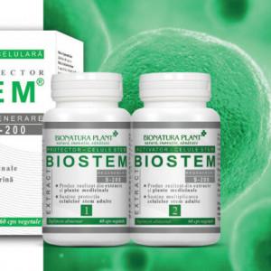 Biostem Extract, protector si activator a celulelor stem, 2x60 cps