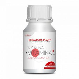 Vitamina C Alcalina Polifenoli, pulbere vegetala, 200 g
