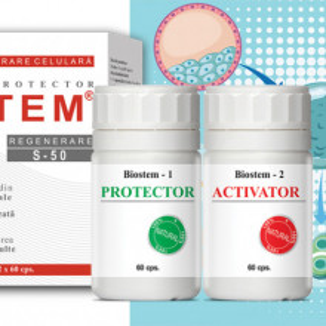 Biostem Natural, refacerea celulelor stem, 120 capsule naturale