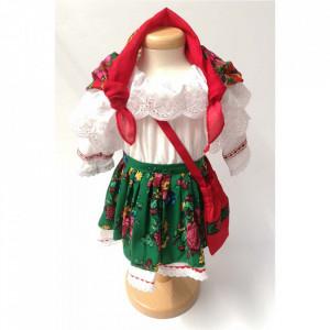 Costum national fetite, 1 - 4 ani, Denikos® 699
