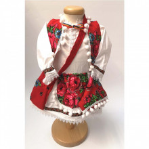 Costum traditional fete, 1 - 8 ani, Denikos® 701