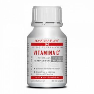 Vitamina C5 Alcalina, efect antiinflamator, 180 cps