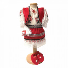 Costum botez traditional, fetite, Denikos® 688