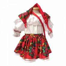 Costum popular botez fetita, Denikos® 679