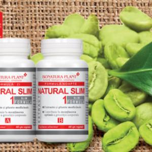 Natural Slim 1, mentinerea optima a greutatii corporale, 2x60 cps