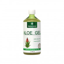 Aloe Gel, suc natural de Aloe Vera, 1 litru