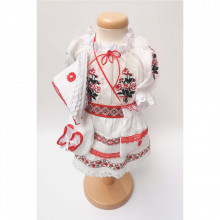 Costum botez traditional, fetita, Denikos® 693