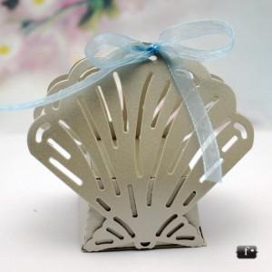 Cutii scoica decupata marturii nunta / botez VN002