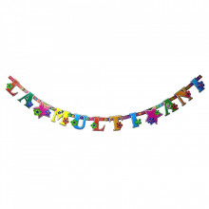 Set party butelie heliu, balon cifra 3 folie, banner si 10 baloane latex