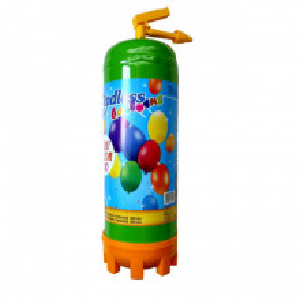 Butelie heliu, cifra 4 balon folie, banner si 10 baloane latex