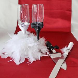 Set nunta pene elegant P007A