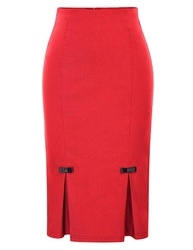 Poque Vintage Bodycon Skirt