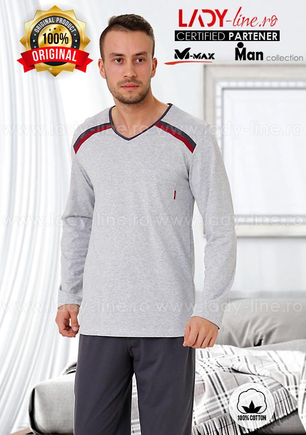Pijamale Barbati, Bumbac 100%, 'Sporty Guy', M-Max