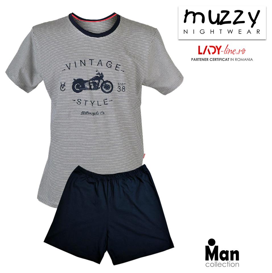 Pijama Barbati Muzzy, 'Vintage Style'