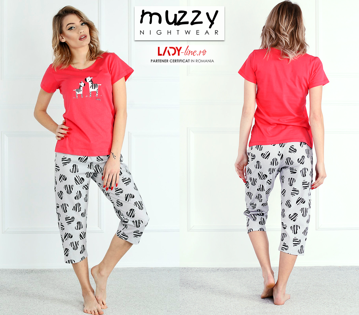 Pijama Dama Muzzy, 'Lovely Family'