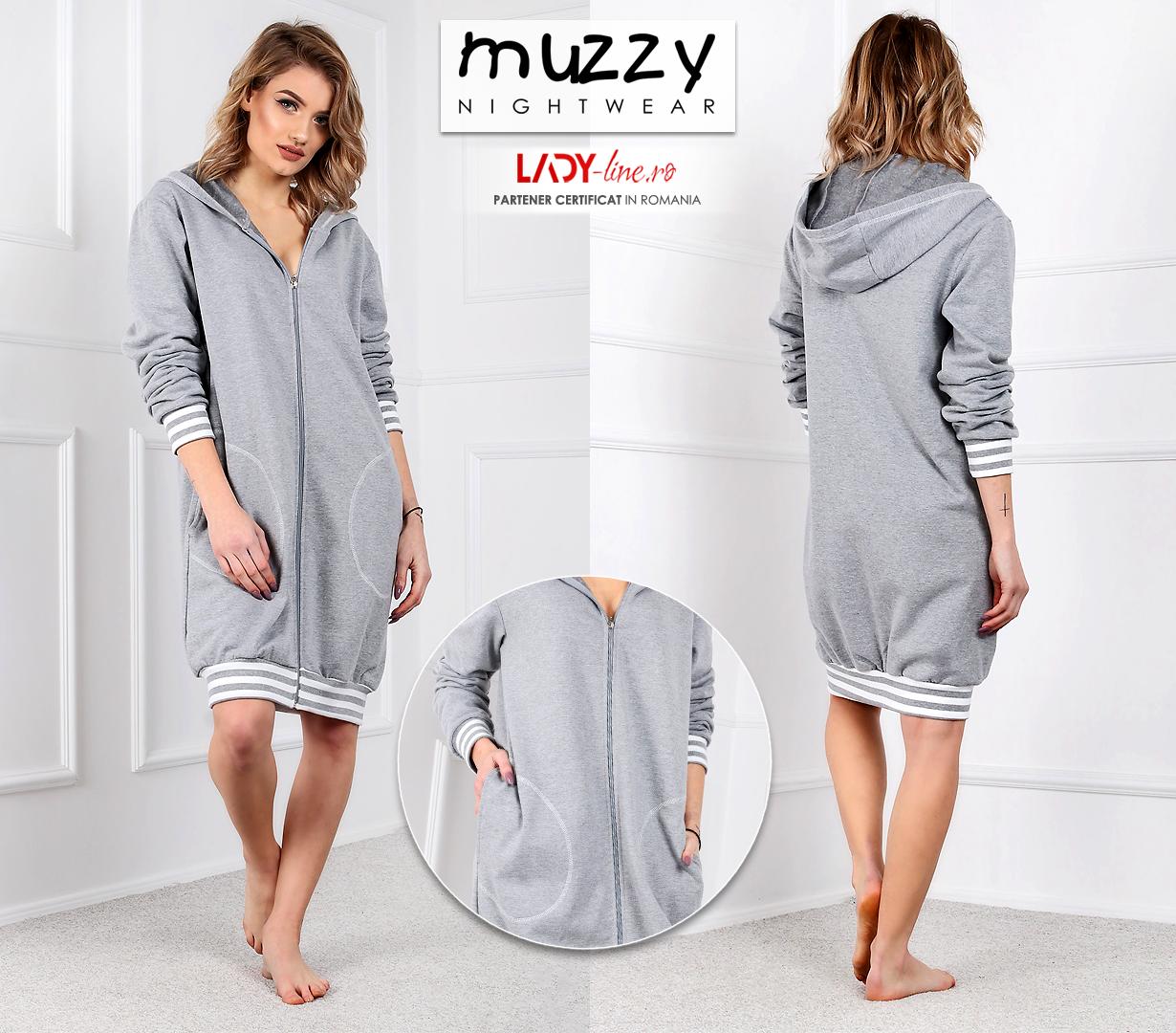 Halat din BUmbac 100%, Muzzy Nightwear, 'Inspiration'