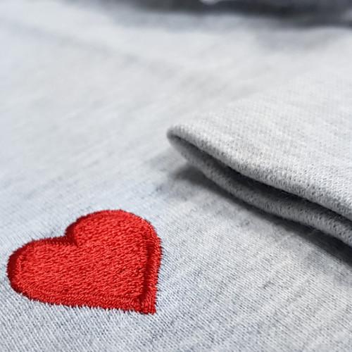 Camasa De Noapte Maneca Lunga, 'Red Heart', DN Nightwear