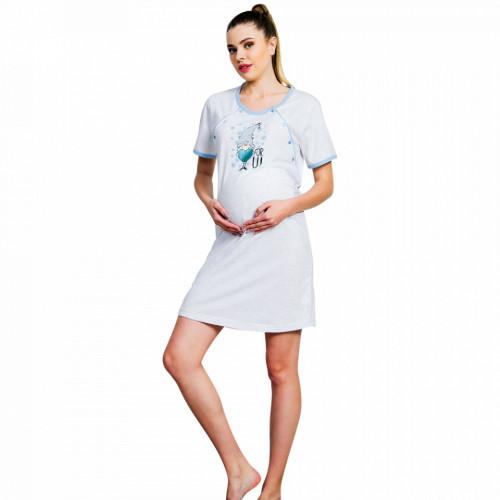 Camasa Gravide si Mamici Vienetta, Model For You Blue