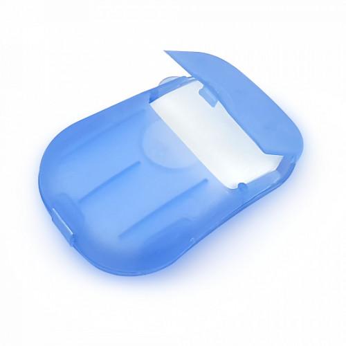 Dispozitiv cu Foite de Sampon pentru Par Ideal pentru Calatorii, Aroma de Menta, 50 Buc