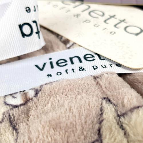 Halat Dama cu Gluga Extra Soft Vienetta 'Happy and Relaxed'