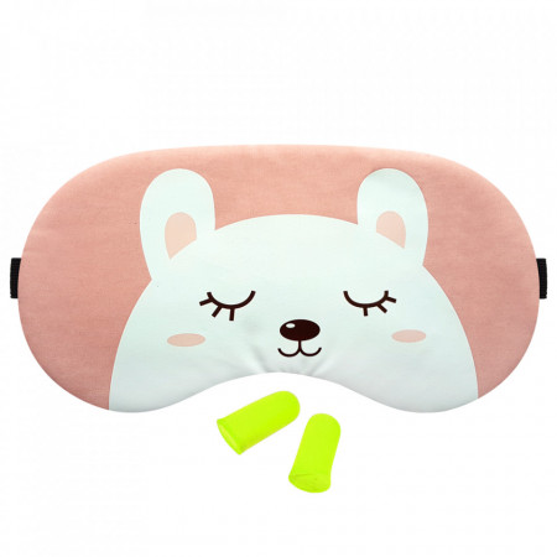 Masca Dormit 'Sleep Bear' si Antifoane Interne Urechi