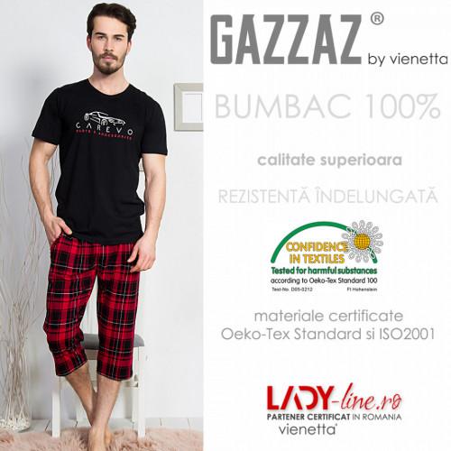 Pijama Barbati Gazzaz by Vienetta, 'Carevo'