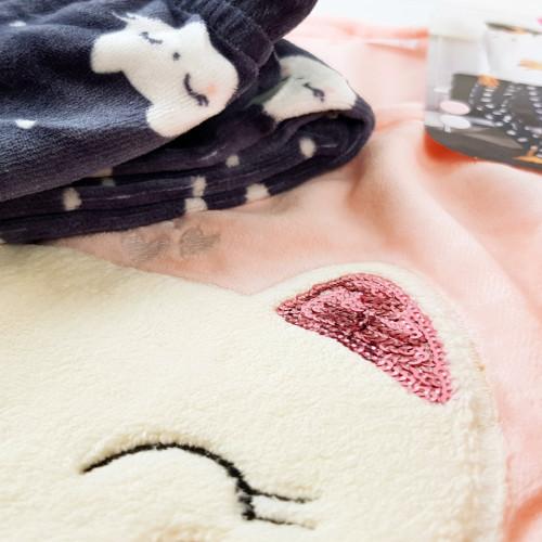 Pijama Dama Soft Velur, Vienetta, 'Cute Kitty'