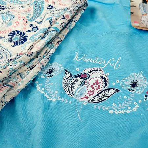 Pijamale Dama Marimi Mari Vienetta, Model Wonderful Symphony