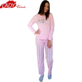 Poze Pijamale Dama Toamna, Model Home Is Where The Cats Are, Producator Benter Fashion Wear, Bumbac 100%, Culoare Roz