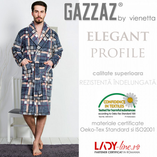 Halat Barbati Extra Soft Gazzaz by Vienetta, 'Elegant Profile'