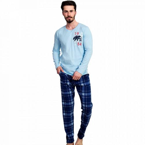 Pijama Barbati Gazzaz by Vienetta, 'Alaska City'