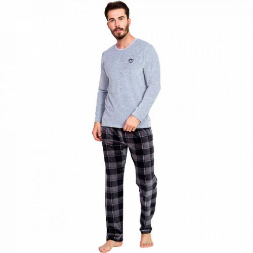 Pijama Barbati Velur, Gazzaz by Vienetta, 'Vision of the Generations'