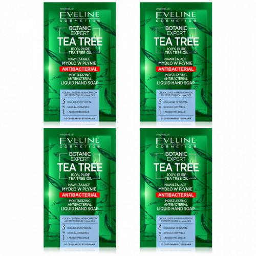 Sapun Lichid Calatorie Hidratant si Antibacterian Botanic Expert Tea Tree Eveline Cosmetics