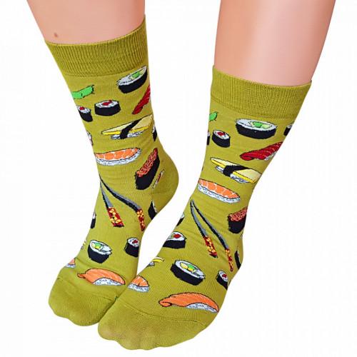 Sosete Clasice Colorate Unisex Cosas Boutique Socks Model Sushi Lovers
