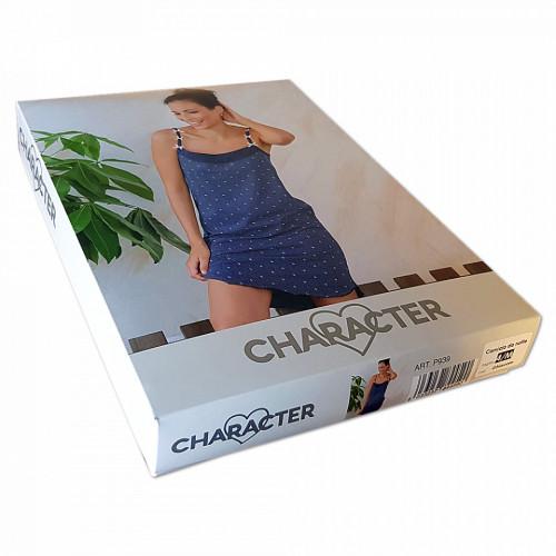 Camasa de Noapte Bumbac 100%, Brand Charachter, 'Anchor' Ghiaccio