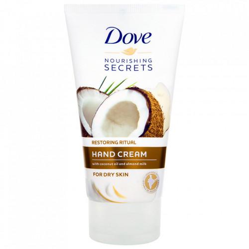 Crema de Maini cu Ulei de Cocos si Lapte de Migdale Dove® Nourishing Secrets Restoring Ritual