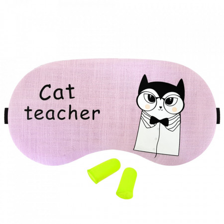 Masca Dormit 'Cat Teacher' si Antifoane Interne Urechi