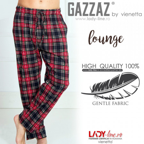 Pantaloni Pijama Barbati Gazzaz by Vienetta 'Lounge'
