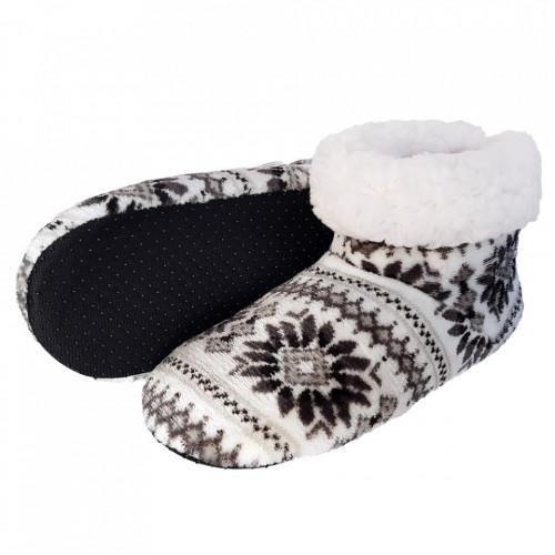 Papuci de Casa tip Cizmulite, 'Monocrome Winter'