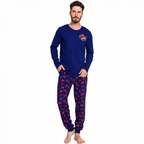 Pijama Barbati Gazzaz by Vienetta, 'Bulls Club'